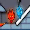 Мальчик-огонь и девочка-вода в ледяном храме (Fireboy and Watergirl 3 Ice Temple)