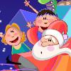 Веселые подарки Санты (Santa's jolly gifts)