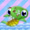 Помойте черепашку (Sparkling Turtle Washing)